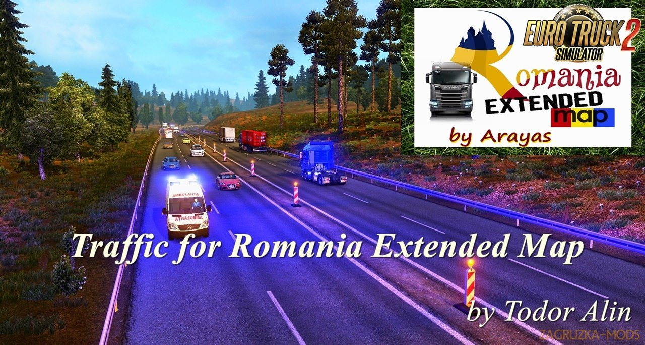 Traffic for Romania Extended Map v1.1