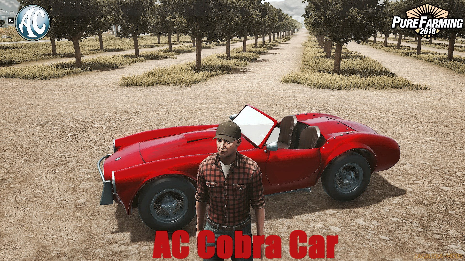 AC Cobra Car v2.0 for Pure Farming 2018