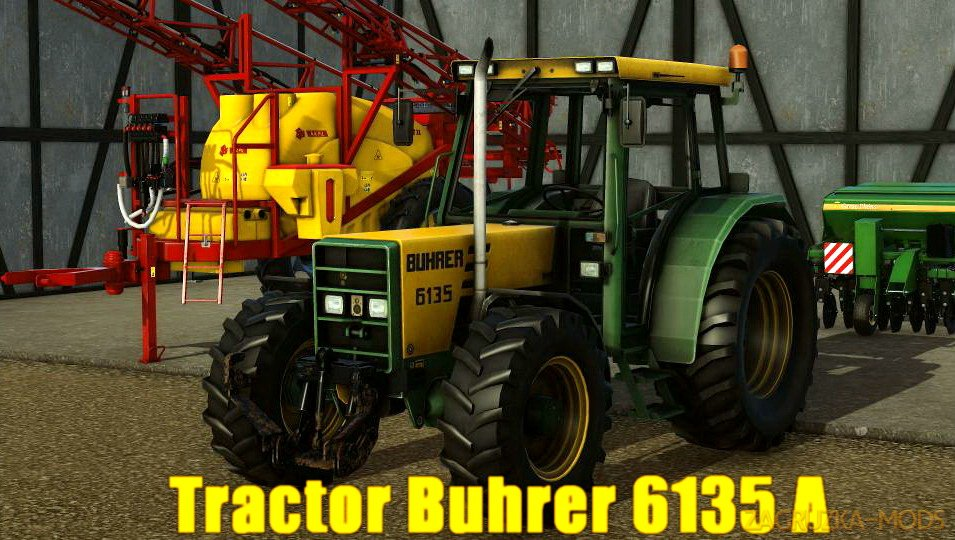 Tractor Buhrer 6135 A v1.0 for Pure Farming 2018