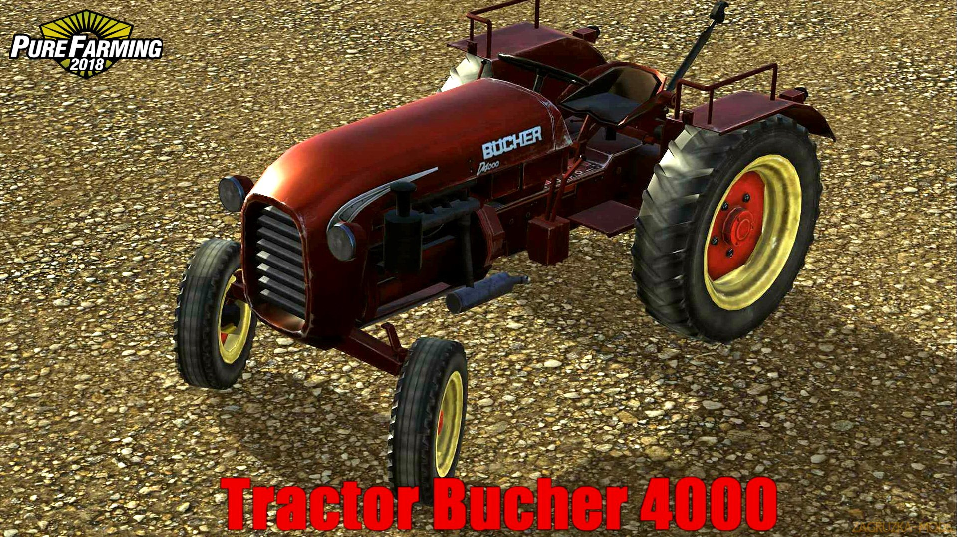 Tractor Bucher 4000 v1.0 for Pure Farming 2018