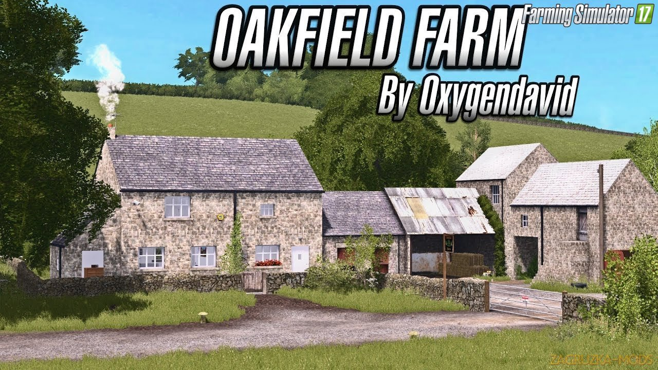 OakField Farm Map v1.0.0.1 for FS 17