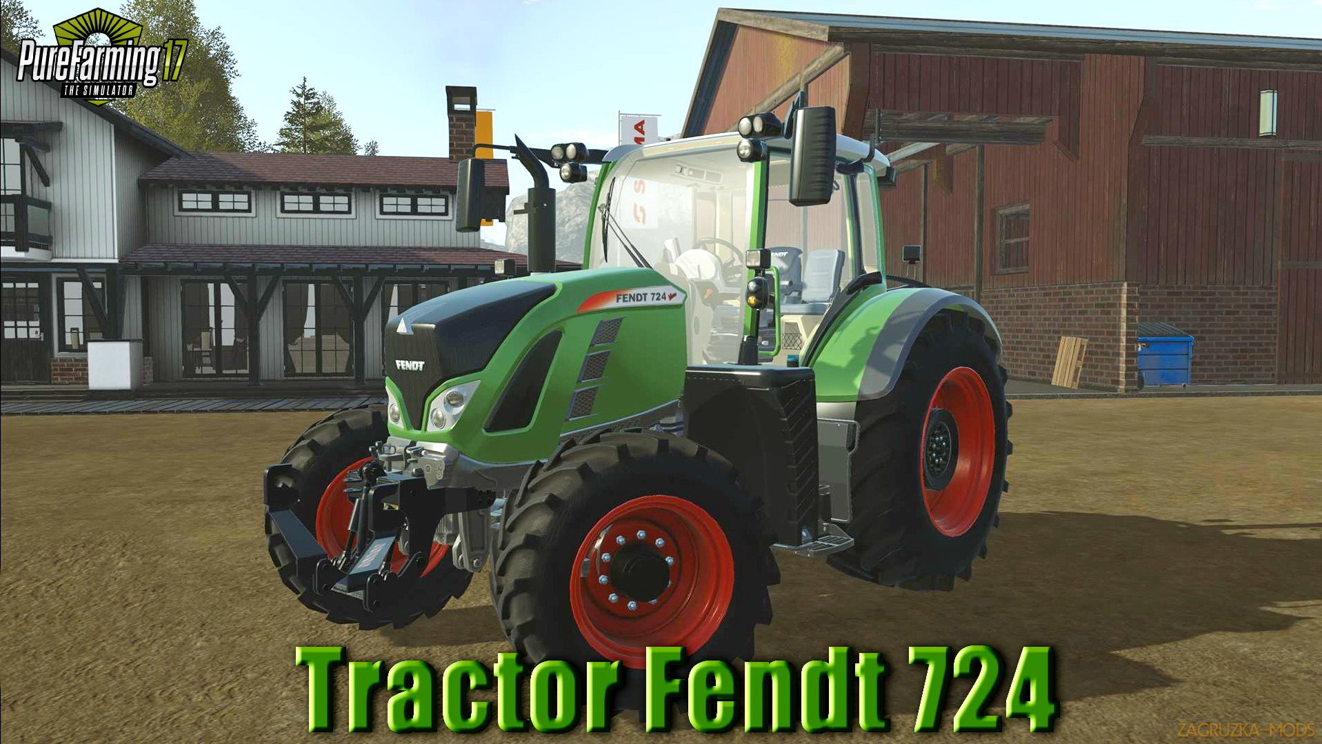 Tractor Fendt 724 v1.0 for Pure Farming 2018