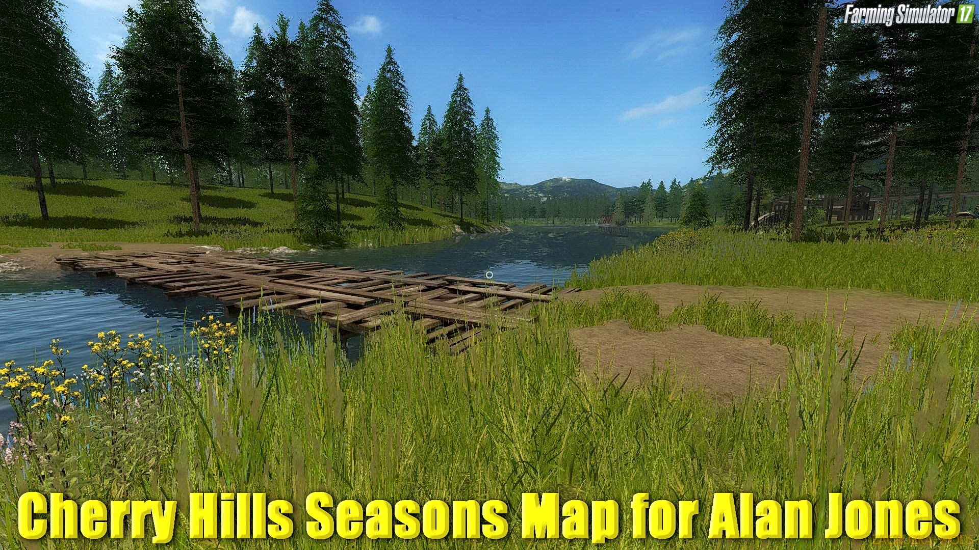 Cherry Hills Seasons Map for Alan Jones v2.0 (Updated) for FS 17