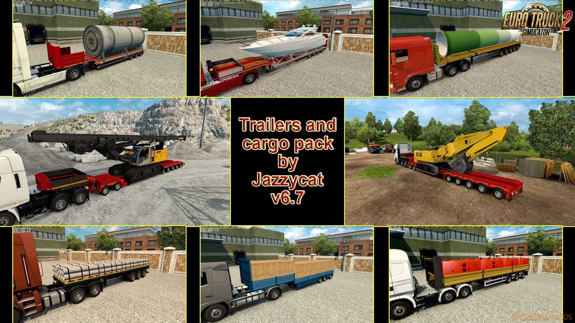 Trailers and Cargo Pack v6.7 by Jazzycat