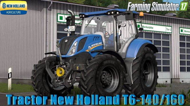 New Holland T6-140/160 4B v1.1 for FS 17