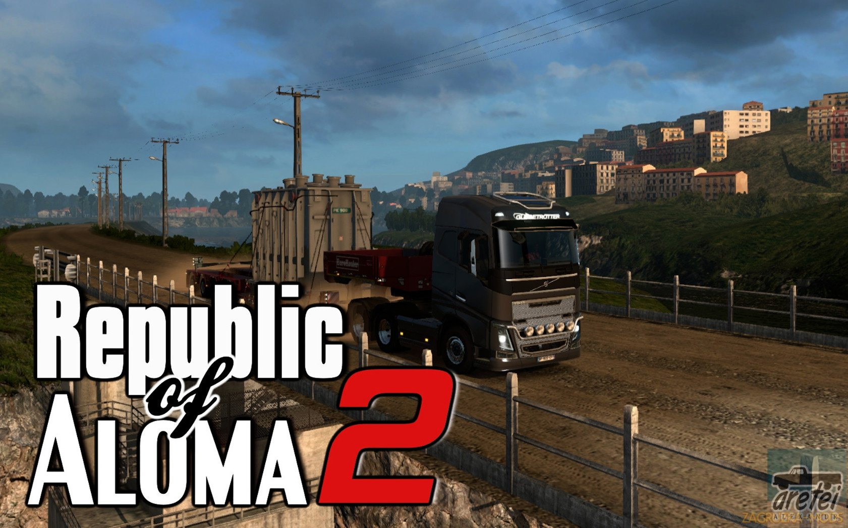 Republic of Aloma Map 2 v1.0 (1.30.x) for ETS 2