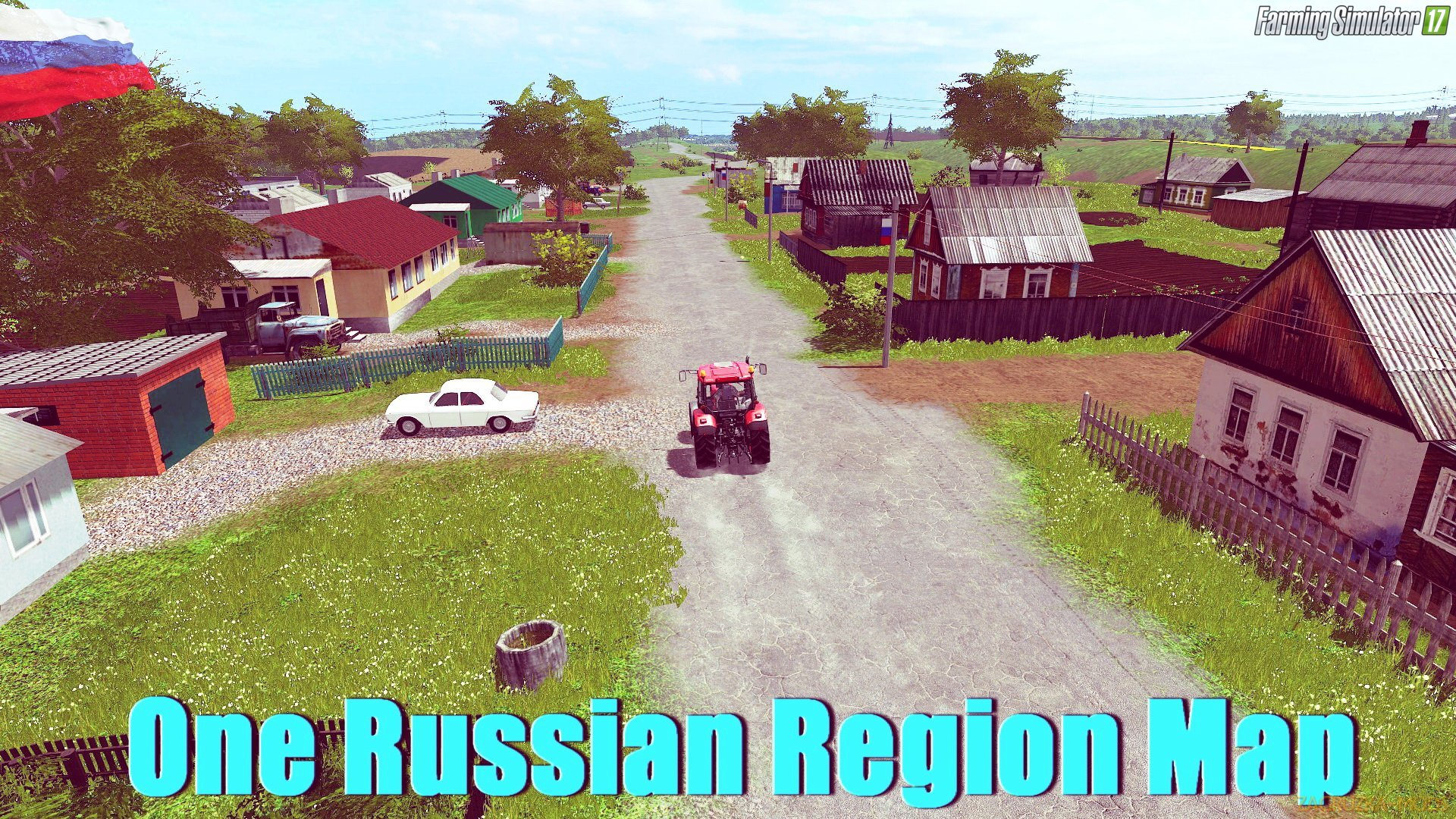 One Russian Region Map v1.2 for FS 17
