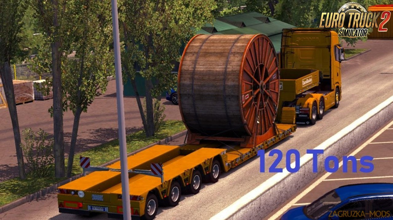 120 Tons Heavy Cargo Trailers by M.HaDi