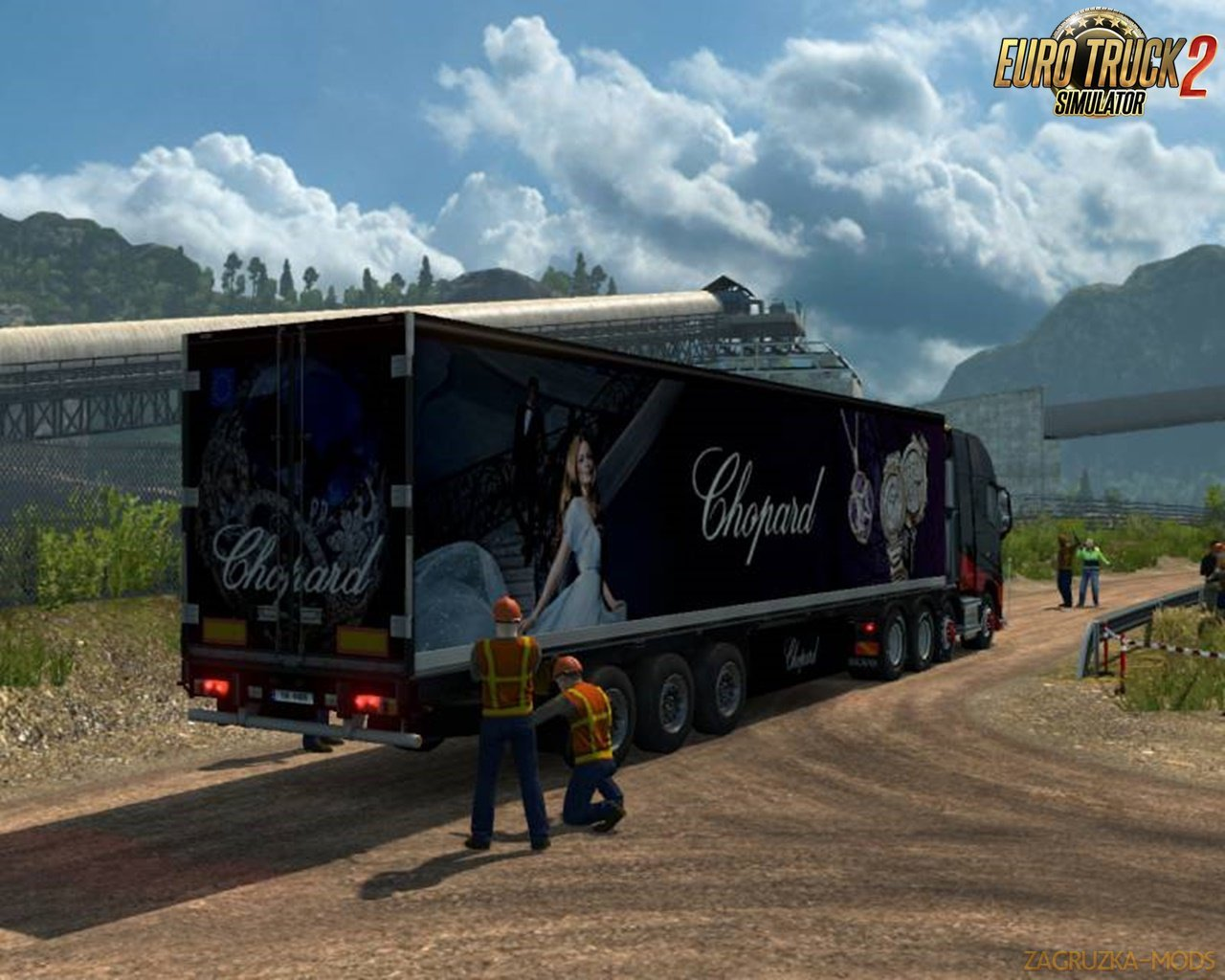 "Special Transport! Luxury Trailers ""Sky In Diamonds"" v1.0.1"