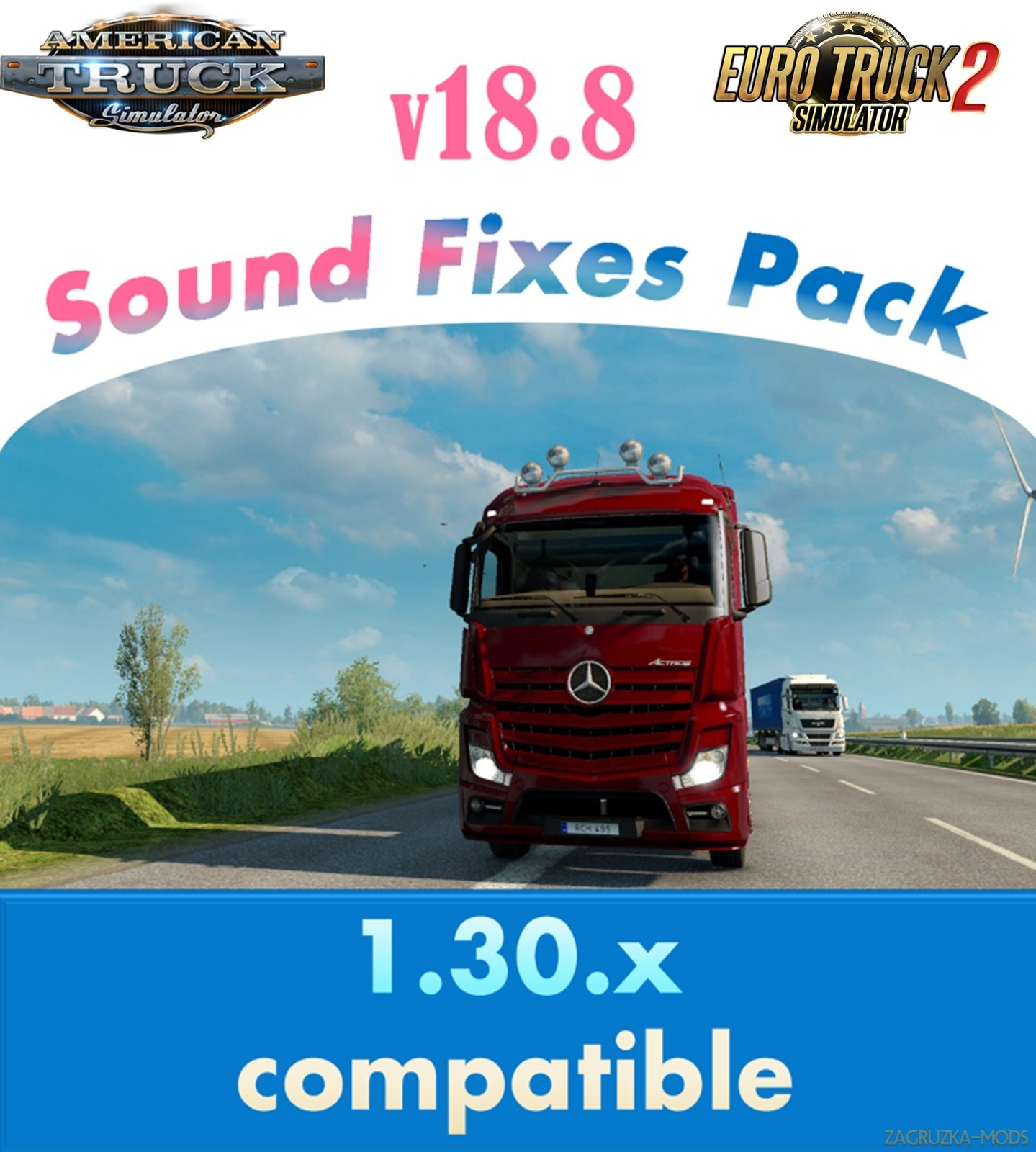 Sound Fixes Pack v18.8 for Ats and Ets2