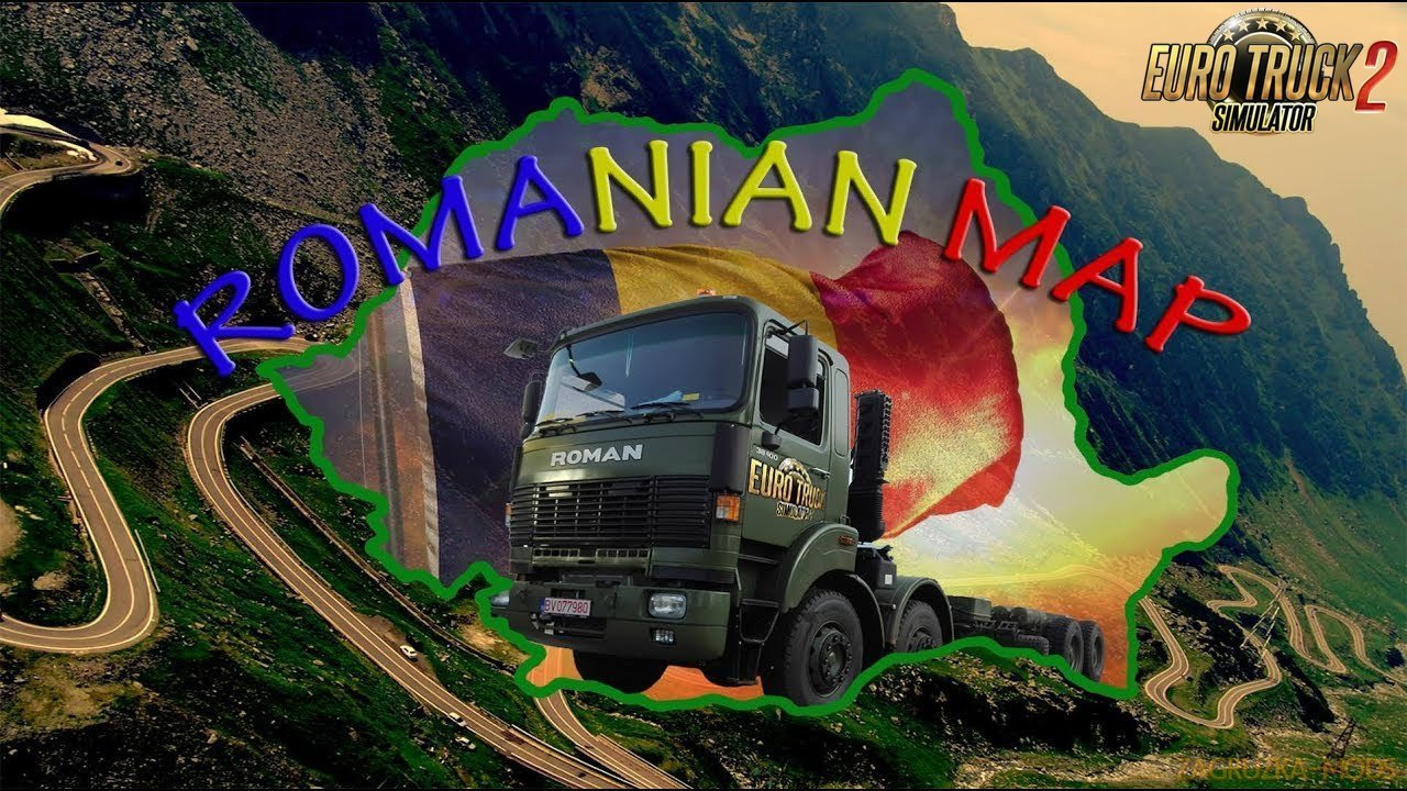 Romanian Map v0.2 by Alexandru (1.32.x) for ETS 2