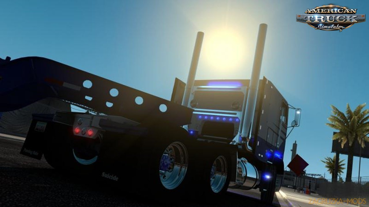 Freightliner FLB + Interior v2.0.7 by Harven (1.36.x) for ATS