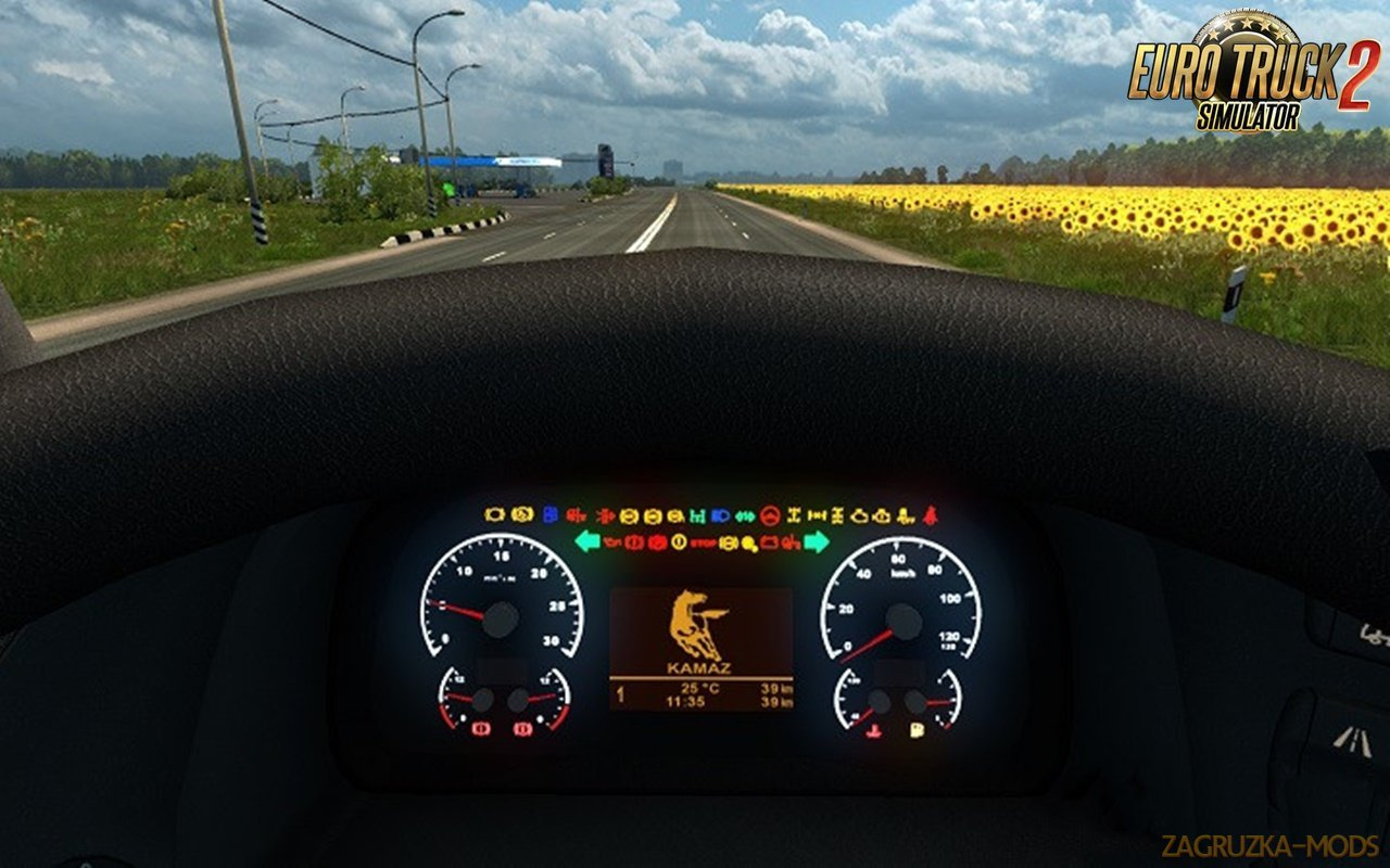 KAMAZ 5490 NEO Dashboard by Piva