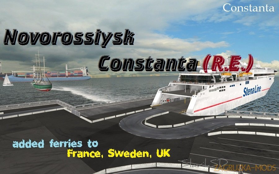 Ferry S.Region 7.0 and Romania Ext. 1.3