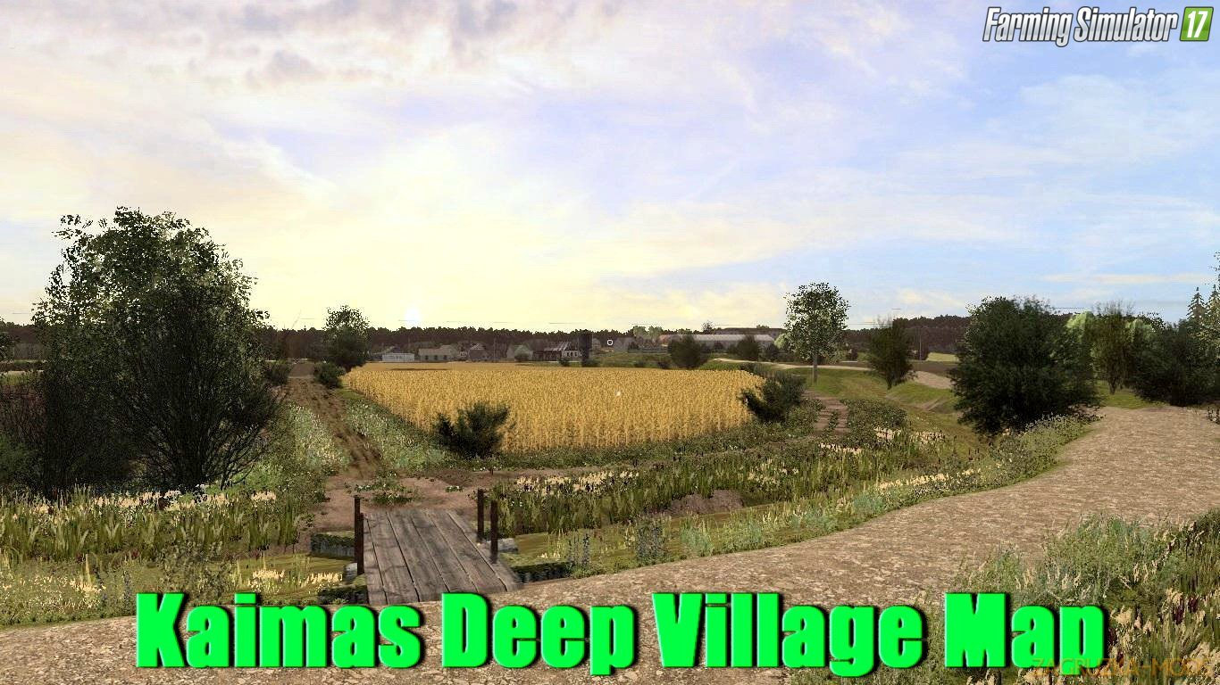 Kaimas Deep Village Map v1.0 for FS 17