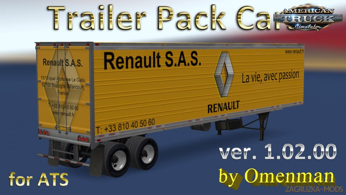 Trailer Pack Cars v 1.02.00 by Omenman