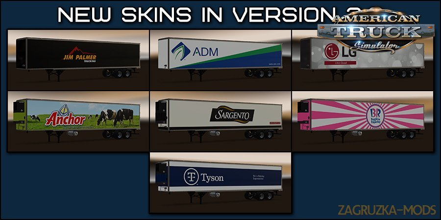 New USA Trailers pack v3.2