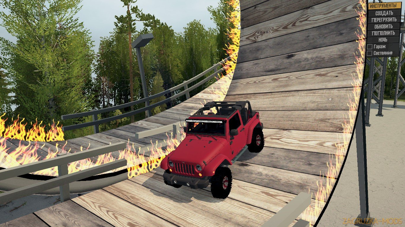 Smars Flex Park Map (Polygon)- W.I.P v1.0 (v06.03.18) for SpinTires: MudRunner