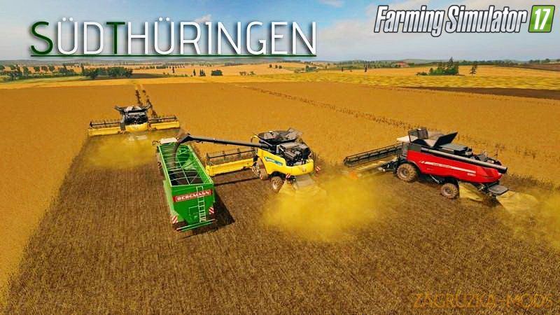 Sudthuringen Map v3.0 for FS 17