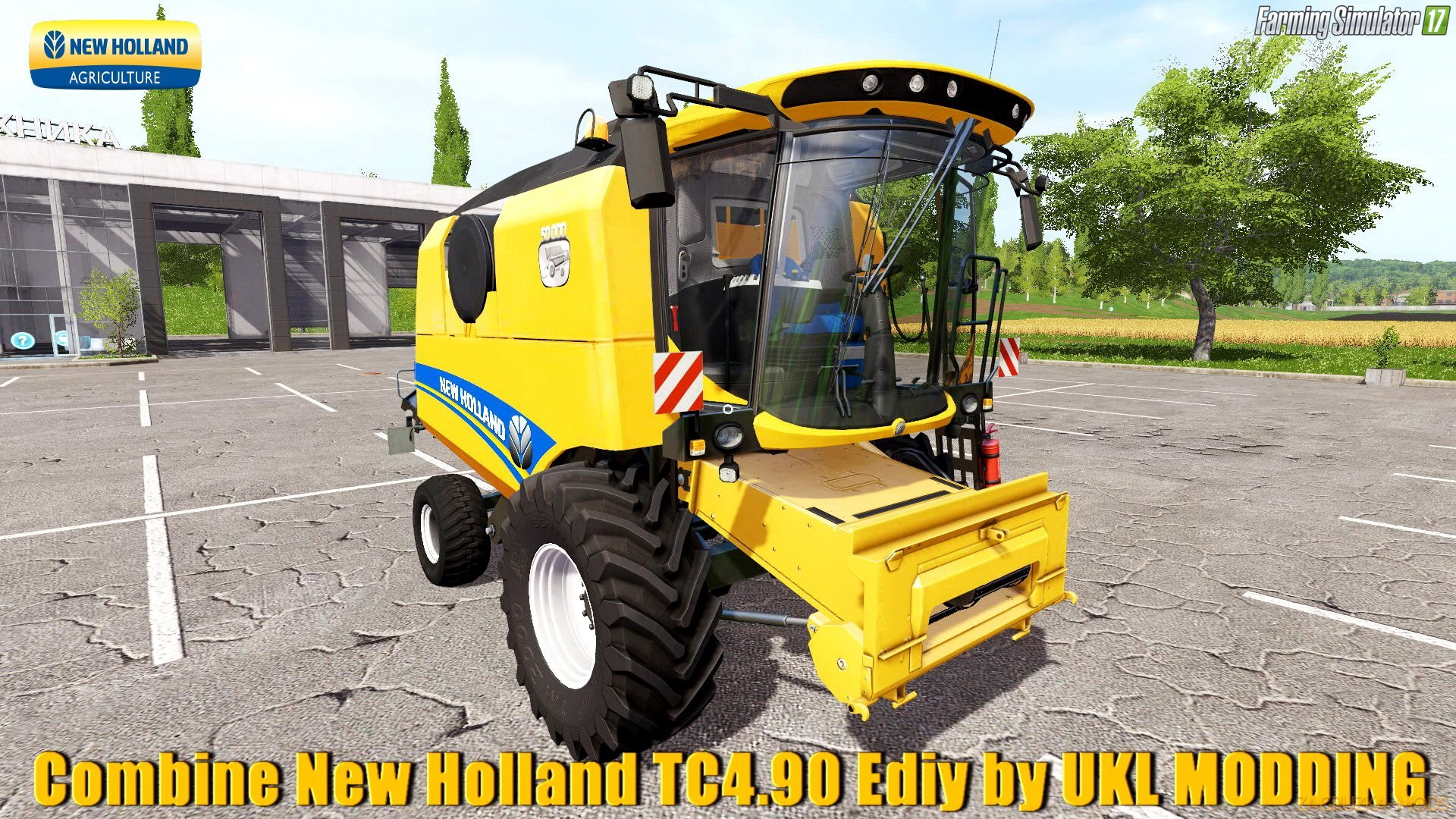 New Holland TC4.90 v1.0 Edit by UKL MODDING for FS 17