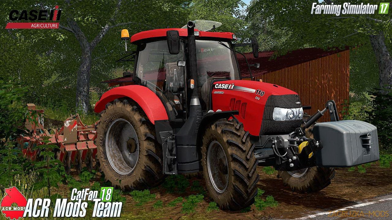 Case IH Maxxum 110 CVX v1.0 Edit by Ukl-Modding for FS 17
