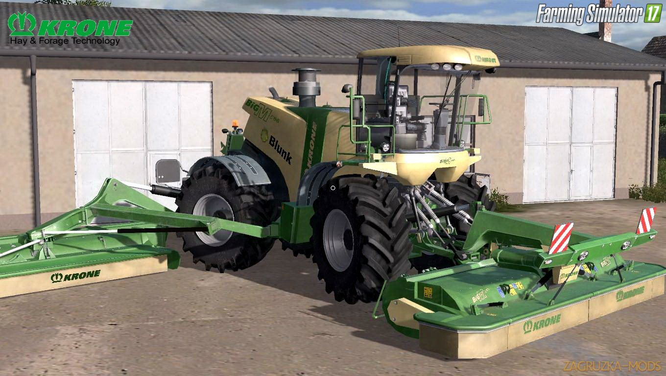 Combine Krone BiG M500 v2.4.1 for FS 17