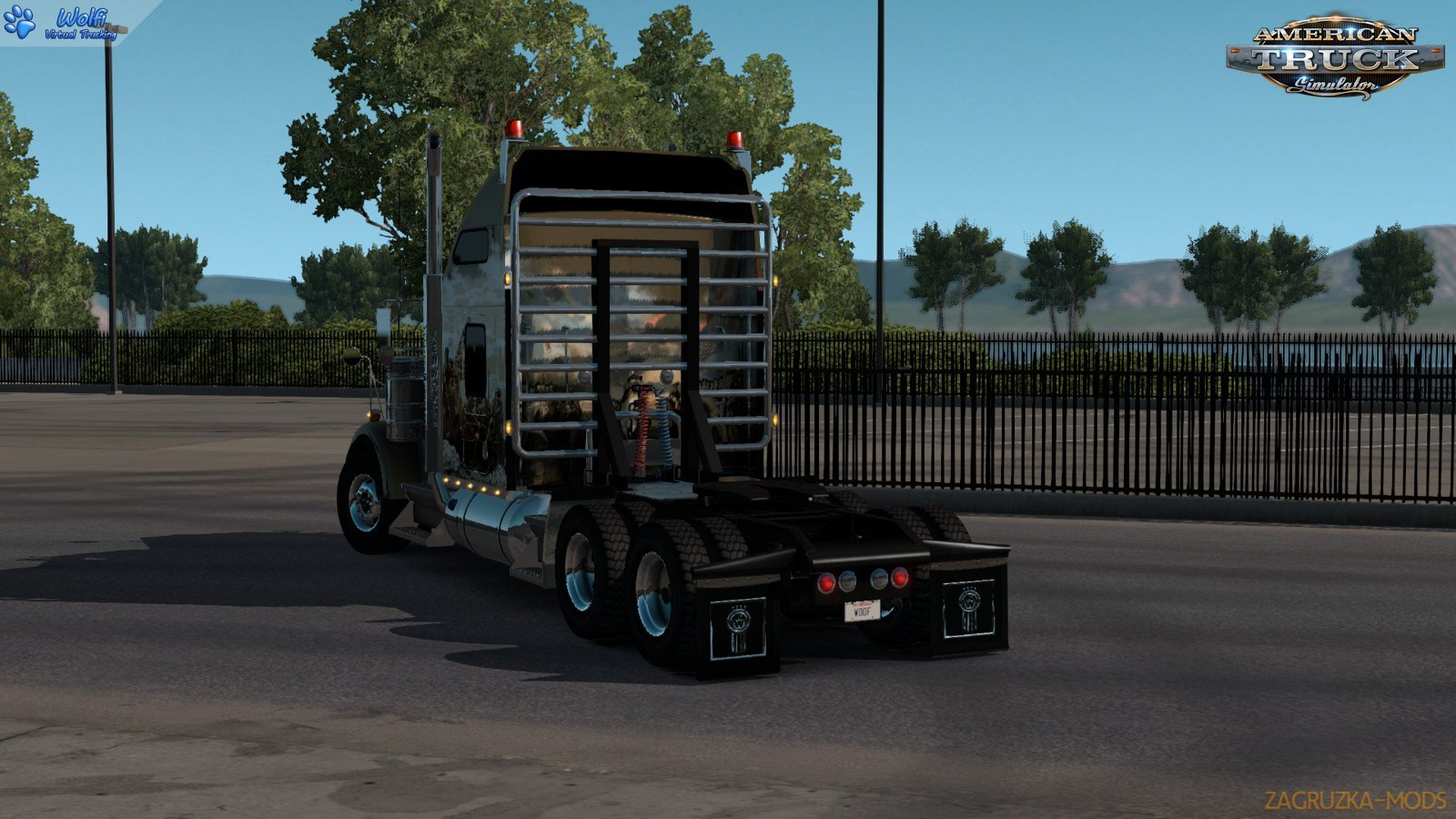 Kenworth W900B + Interior v1.2.2 by GTM Team (1.35.x) for ATS