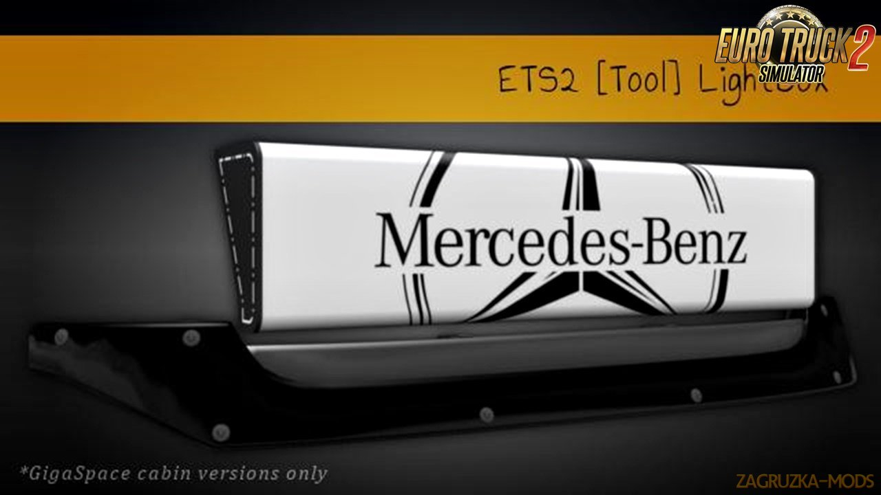 LightBox for Mercedes-Benz Actros 2014 [1.30.x-1.31.x]