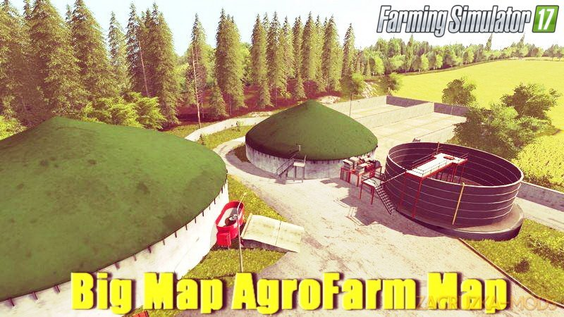Big Map AgroFarm Map v1.0 for FS 17