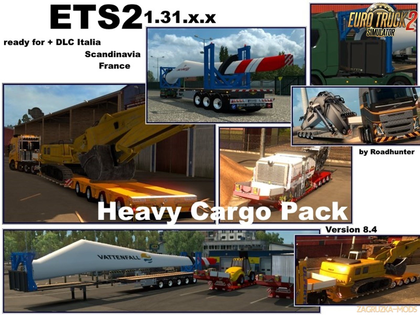 64 Roadhunter Heavy Load Pack v 8.4 [1.31.x]
