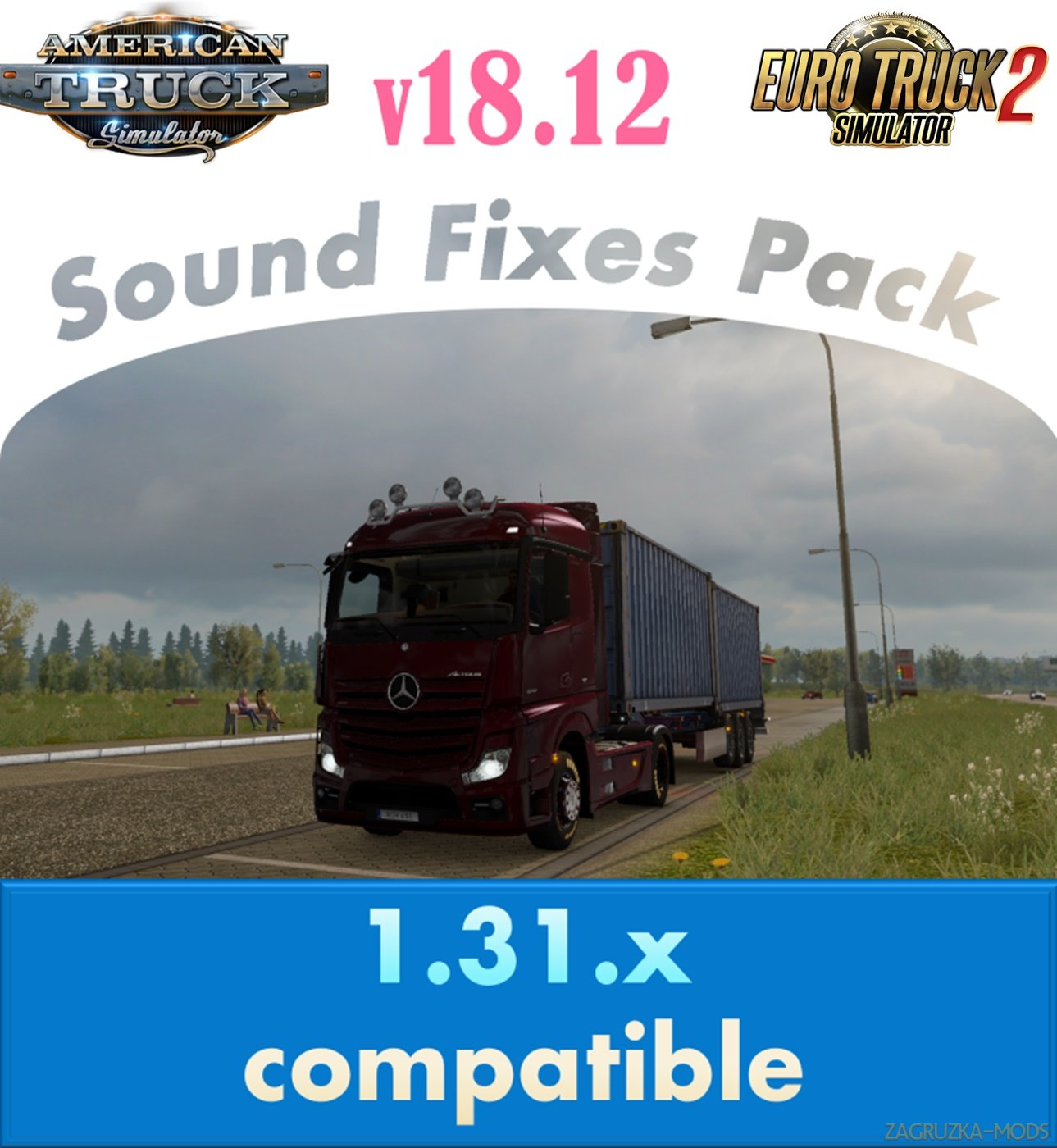 Sound Fixes Pack v18.12 for Ats and Ets2