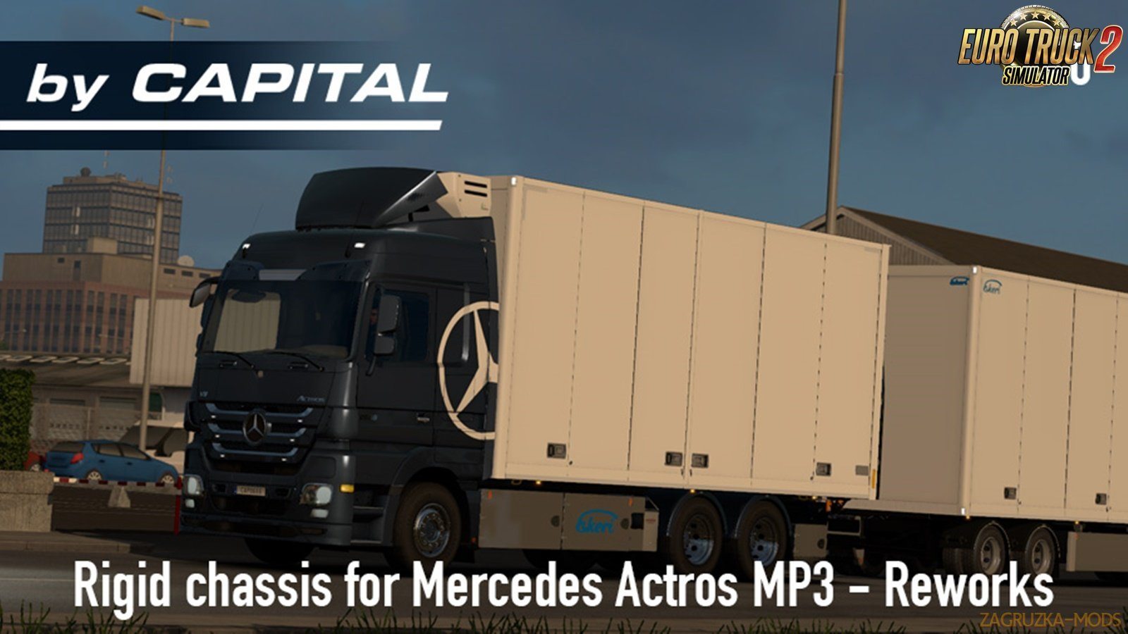 Rigid Chassis for Mercedes Actros MP3 Reworks v 3.01