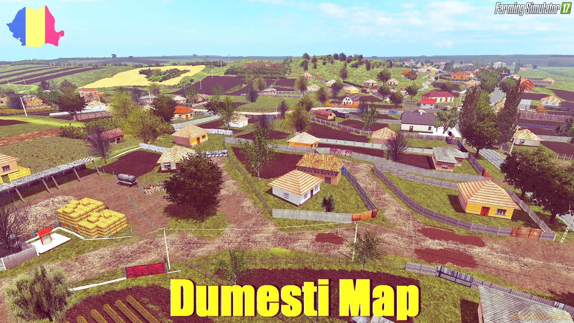 Dumesti Map v1.0 for FS 17