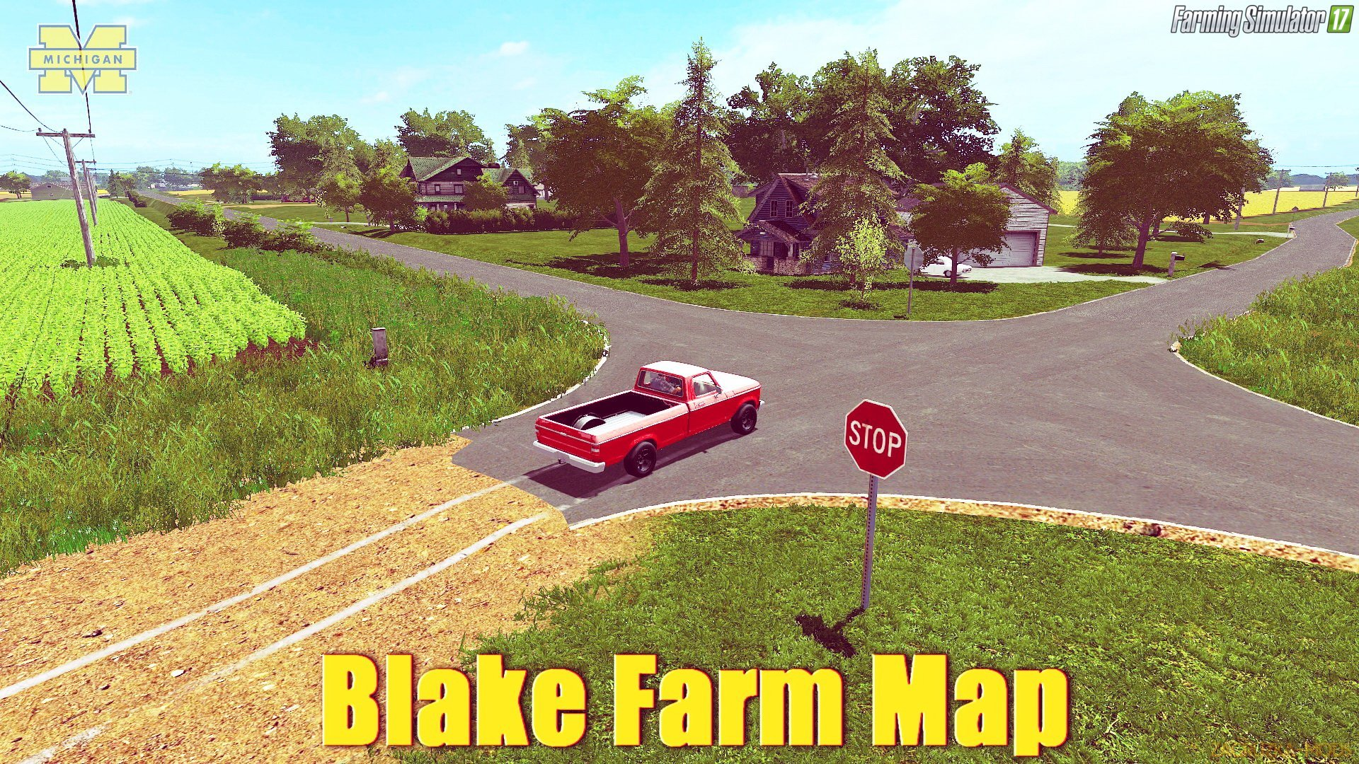 Blake Farm Map v1.0 for FS 17