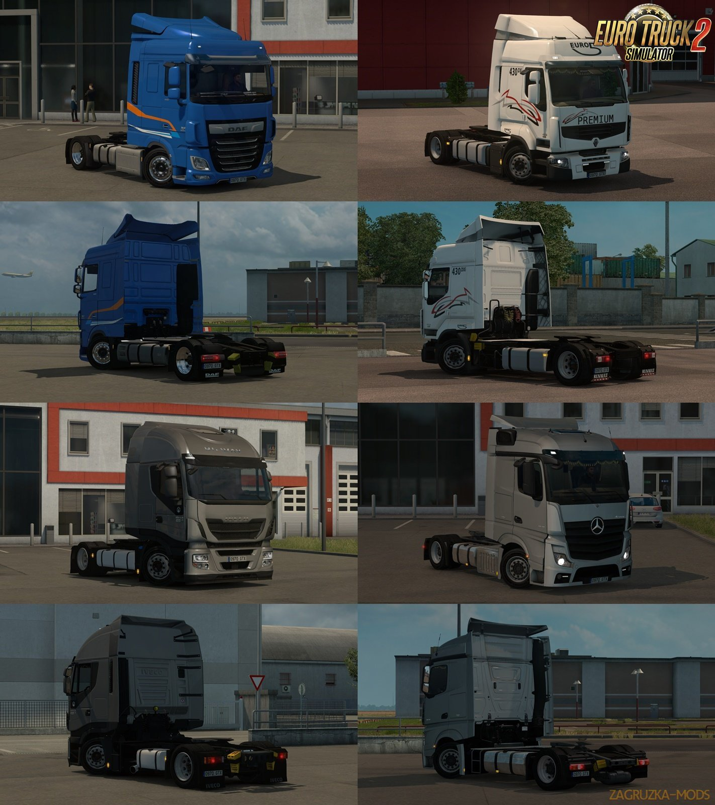 Low deck chassis addons for Schumi's trucks v1.8 by Sogard3