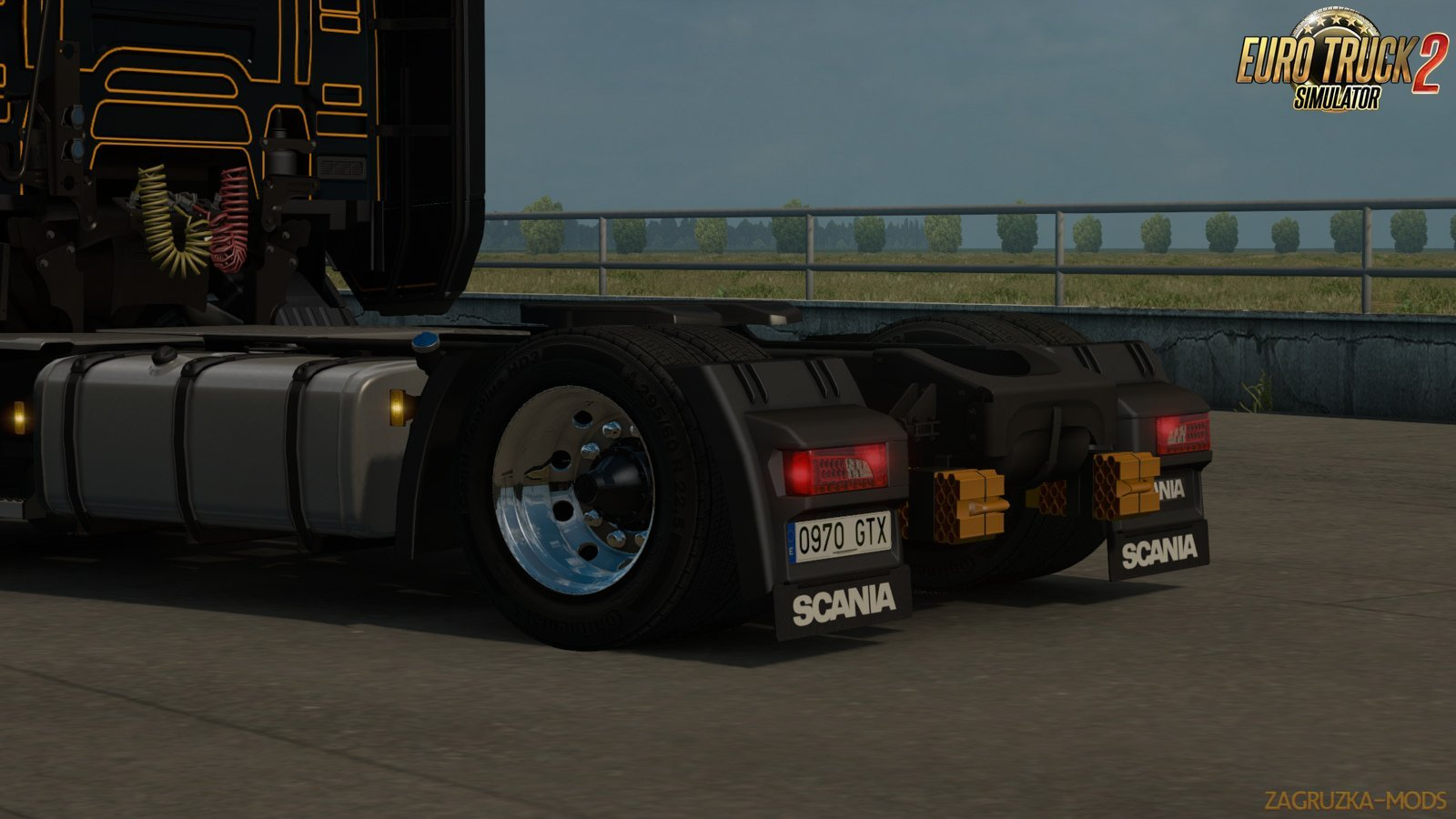 Low deck chassis addon for Scania S&R Nextgen v1.0 by Sogard3