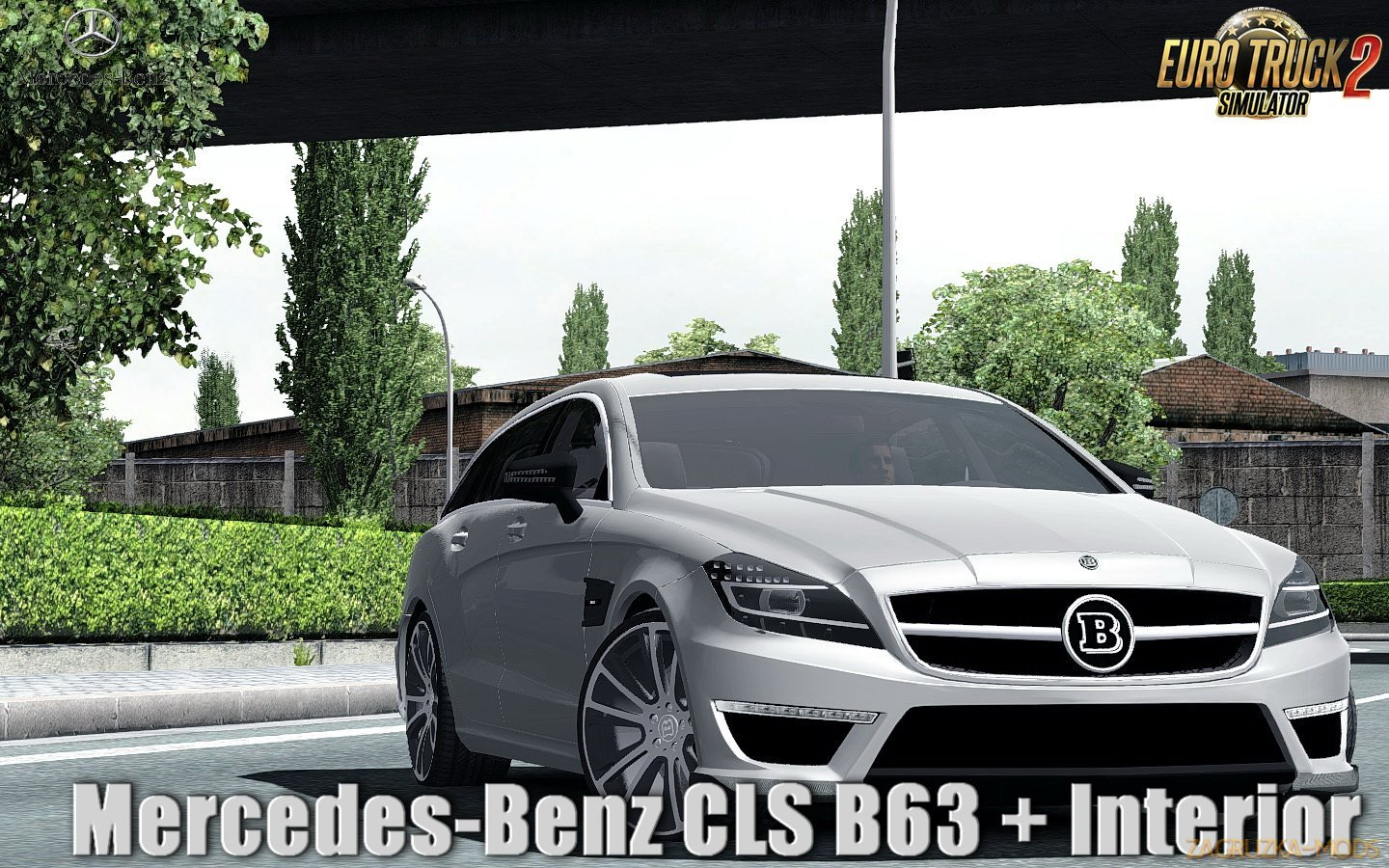 Mercedes-Benz CLS B63 + Interior v1.0 (1.31.x) for ETS 2