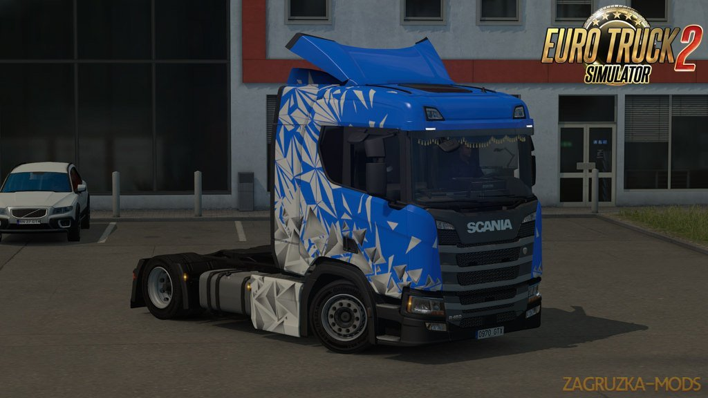 Low deck chassis addon for Scania S&R Nextgen v1.1 by Sogard3