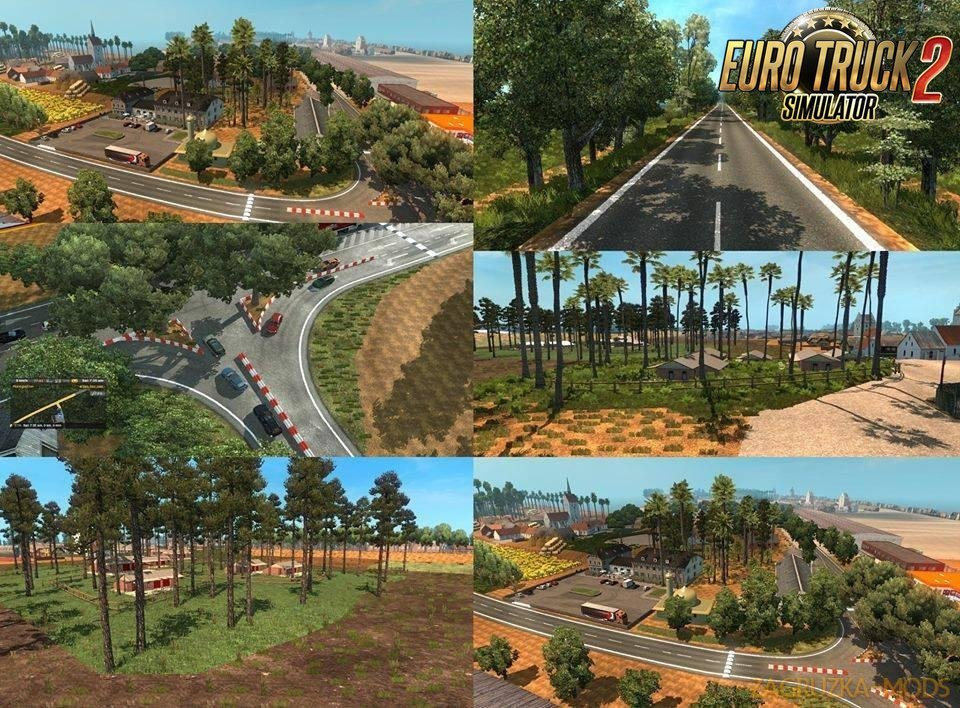 Bangladeshi Route Map v1.0 (1.31.x) for ETS 2