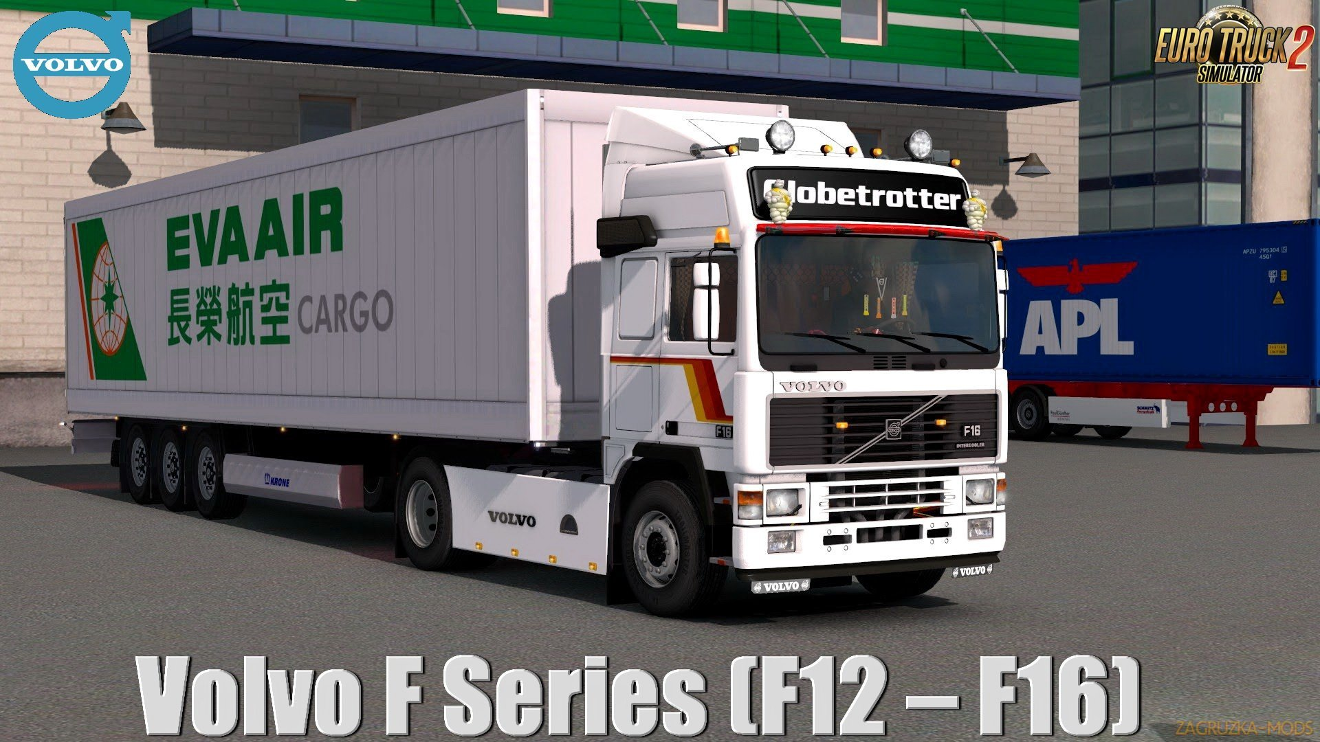 Volvo F-Series (F12 – F16) v2.1 (1.38.x) for ETS2
