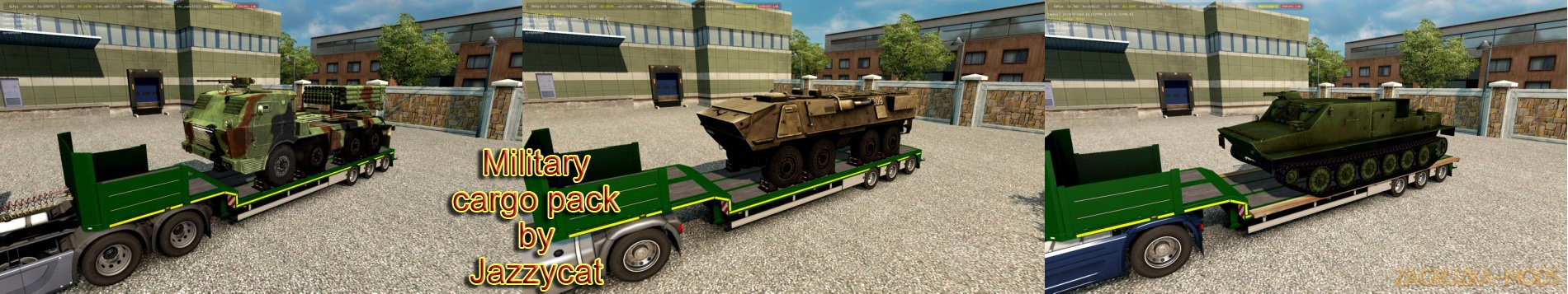 Military Cargo Pack v2.5 by Jazzycat