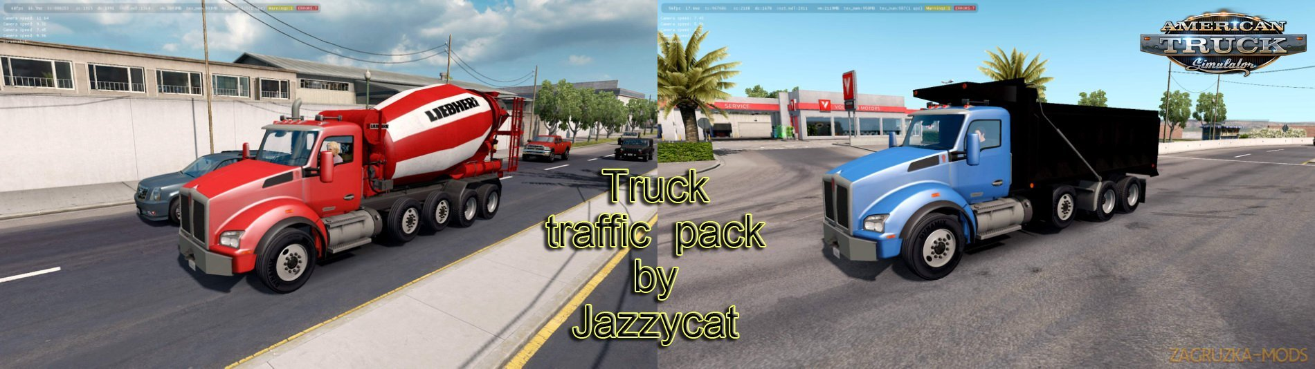 Truck Traffic Pack v1.9 by Jazzycat
