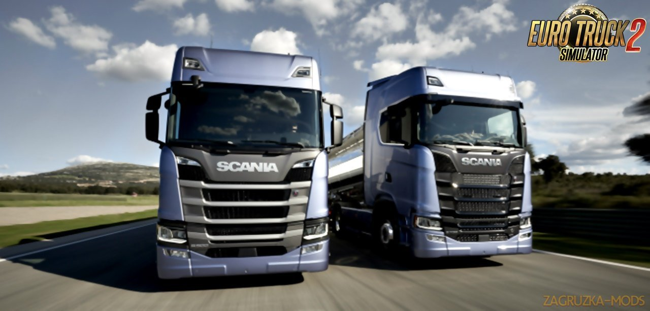 OLSF Engine Pack v17.0 for Scania S 2016