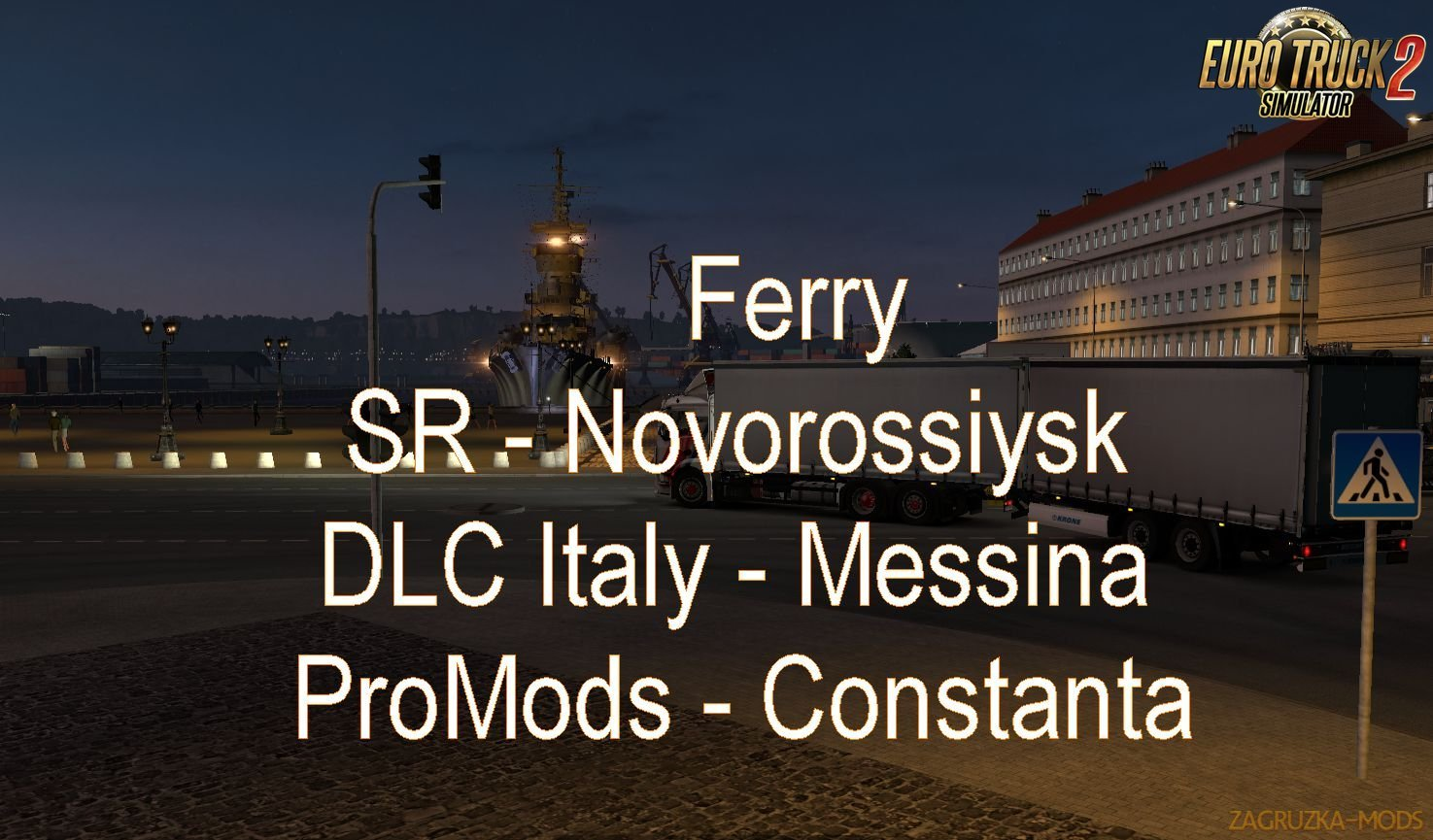 Ferry Connection for Map: Promods2.27-Southern Region7.2-ItalyDLC