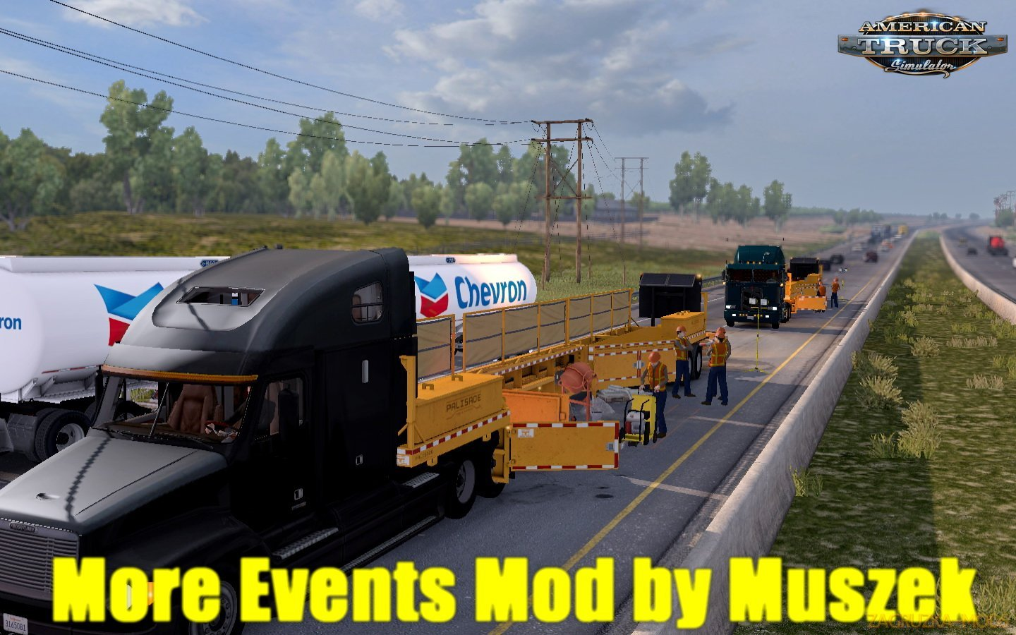 More Events Mod v1.5 by Muszek (1.31.x) for ATS