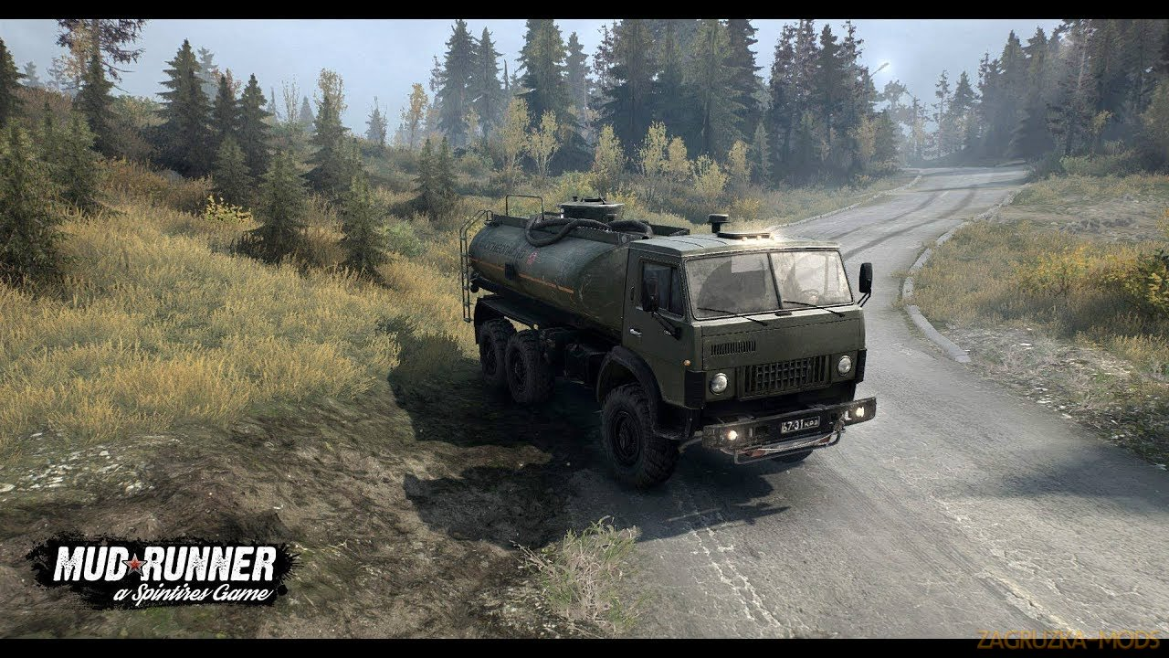 Ete Pluvieux Map v1.0 (v06.03.18) for SpinTires: MudRunner