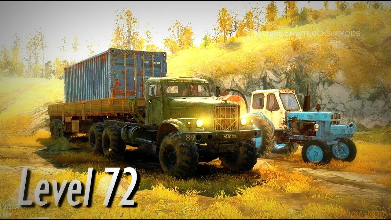 Level 72 Map v1.0 (v06.03.18) for SpinTires: MudRunner