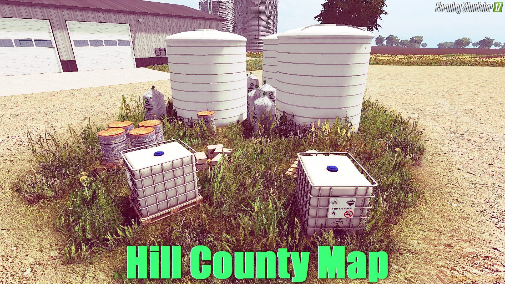 Hill County Map v1.5 for FS 17