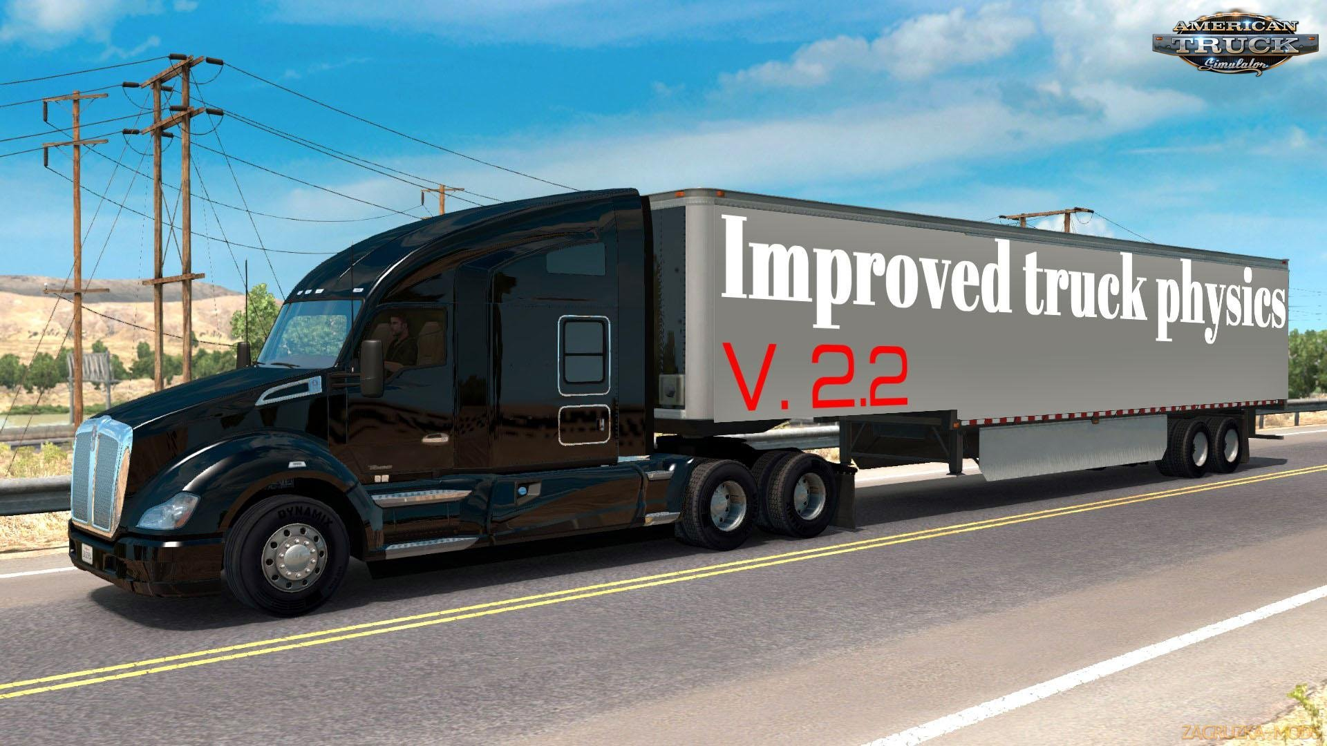 Improved truck physics v2.2 by AlexeyP (1.31.x) for ATS