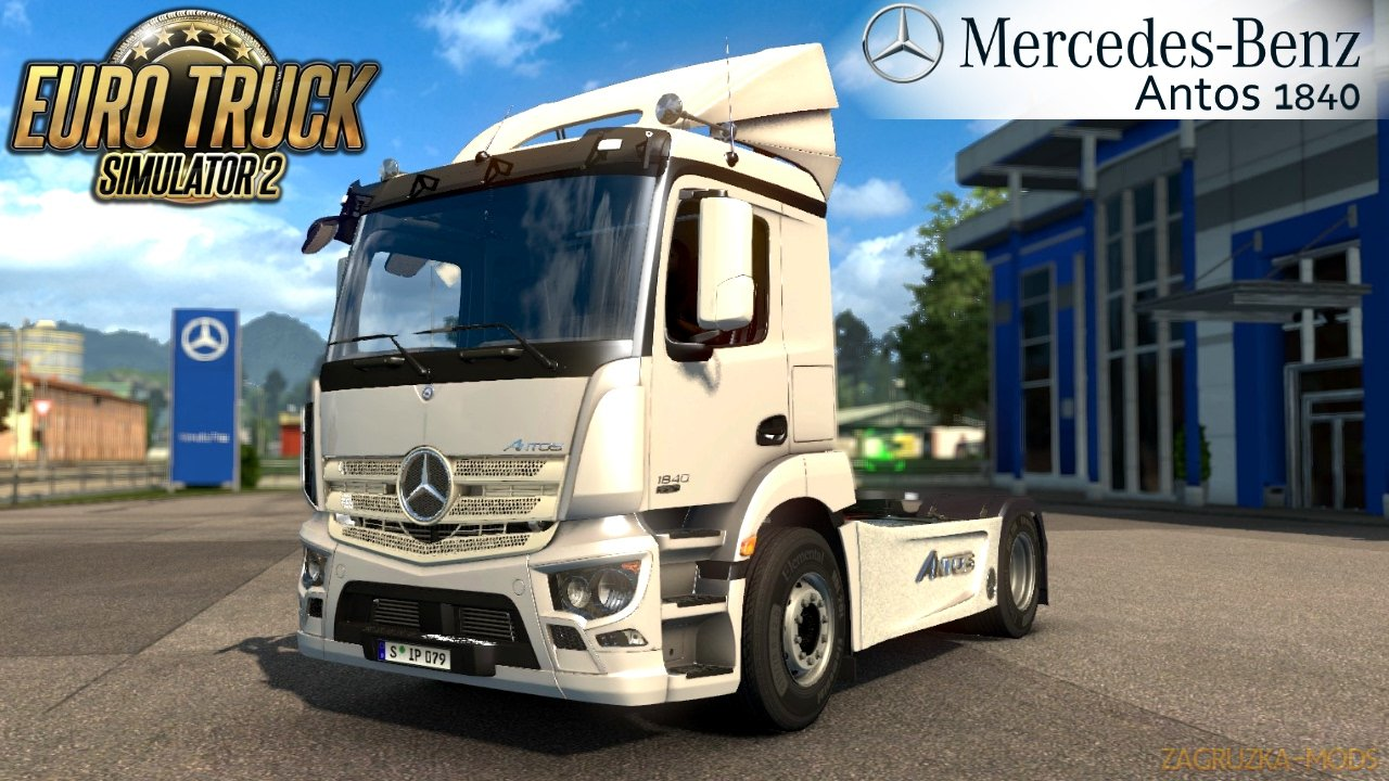 Mercedes Antos 1840 + Interior v3.0 (1.31.x) for ETS 2